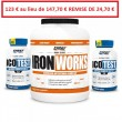 PACK IRON WORKS 2.2 kg + 2 ICOTEST 2.0 - FIRST IRON SYSTEM