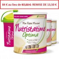 Pack 3 NUTRISTATIME OPTIMA + SHAKER OFFERT - PHYTOSTATINE