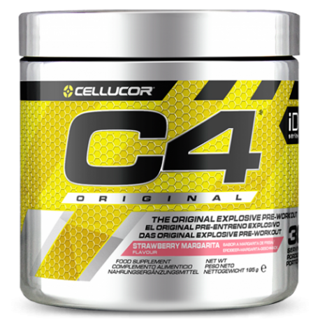 C4 ORIGINAL PRE-WORKOUT 195g - CELLUCOR