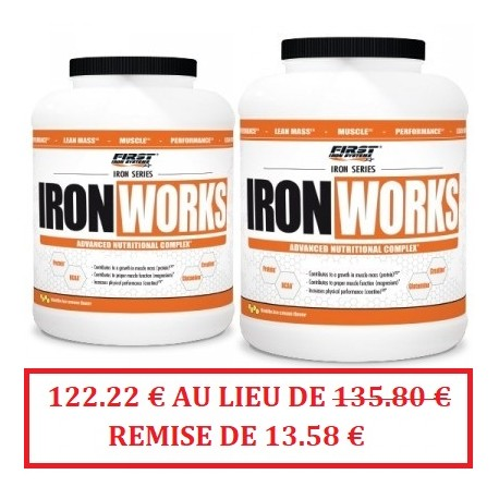 IRON WORKS 4400g - FIRST IRON SYSTEMS