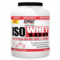 ISO WHEY 100 / 1000g - FIRST IRON SYSTEMS