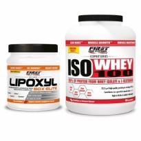 Pack 1 LIPOXYL 50X ELITE et 1 ISO WHEY 100
