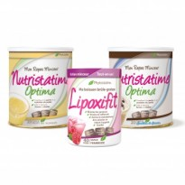 PACK 1 LIPOXIFIT + 2 NUTRISTATIME OPTIMA