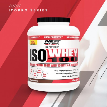 ISO WHEY 100 / 1000g - FIRST ION SYSTEMS