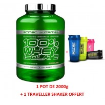 100% Whey Isolate - SCITEC NUTRITION