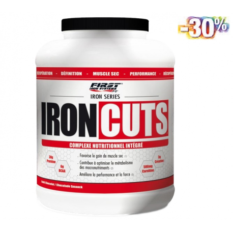 IRON CUS 2200g - FIRST IRON SYSTEMS