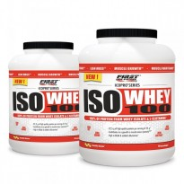 Pack 2 ISO WHEY 100 / 2kg - FIRST IRON SYSTEMS