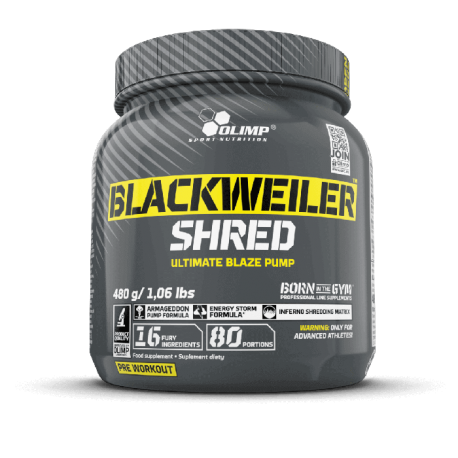 BLACKWEILER SHRED 480g - OLIMP SPORT NUTRITION
