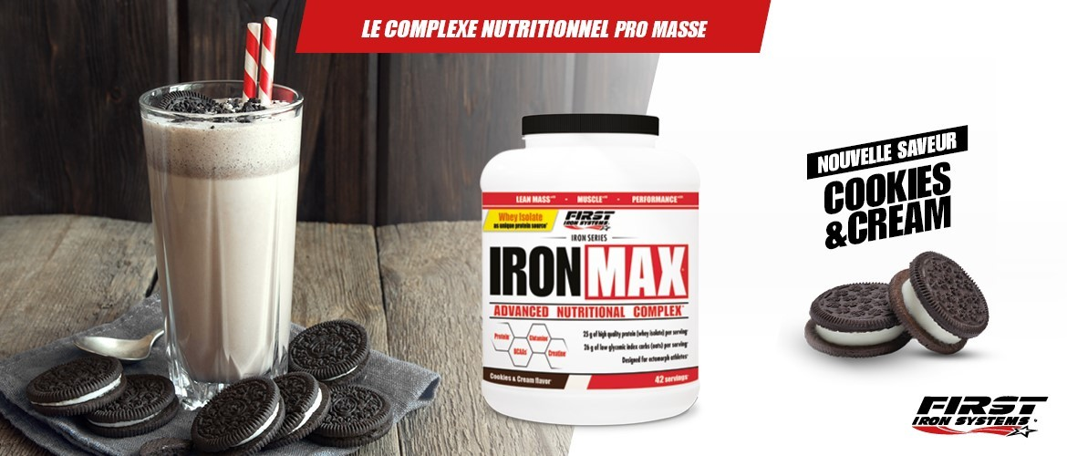 IRON MAX 2000g cookies