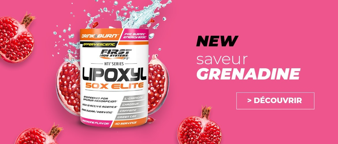 LIPOXYL 50X ELITE grenadine