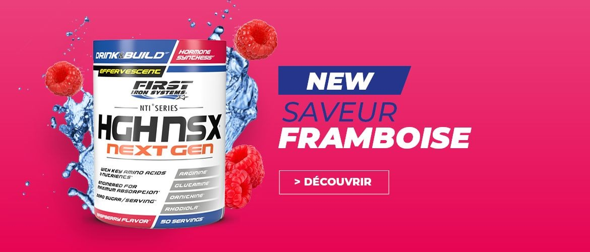 HGH NS NEXT GEN framboise